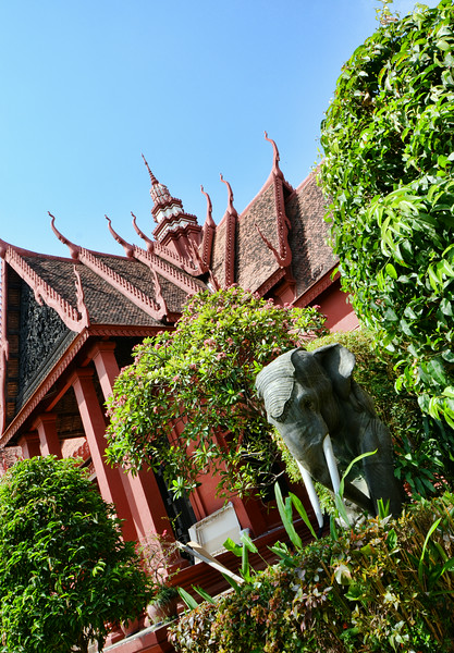 The National Museum of Cambodia, Phnom Penh, Cambodia. - 2014.