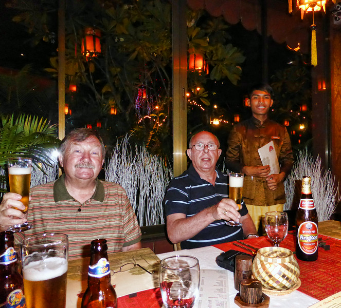 Madame Butterfly Restaurant, 6 (Airport Road), Siem Reap, Cambodia. - 2014.