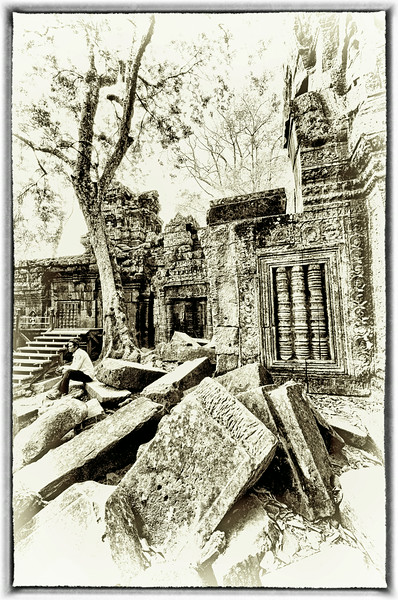 Ta Prohm, The Angkor Temple, Siem Reap, Cambodia. - 2014.