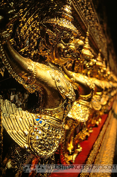 Thailand Grand Temple Bangkok Detail