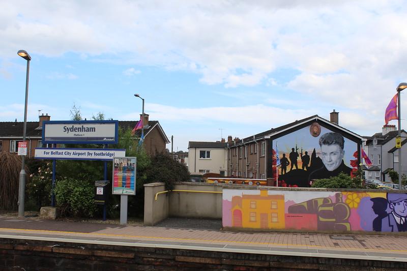 UVF Ulster Volunteer Force Mural, Belfast