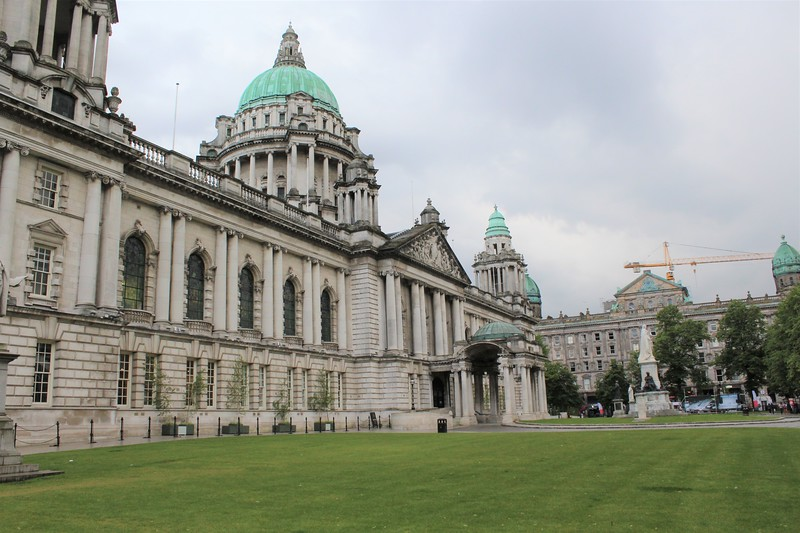 Belfast City Hall (from Donegall Sq East)