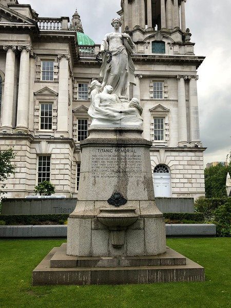 RMS Titanic Memorial, Belfast City Hall