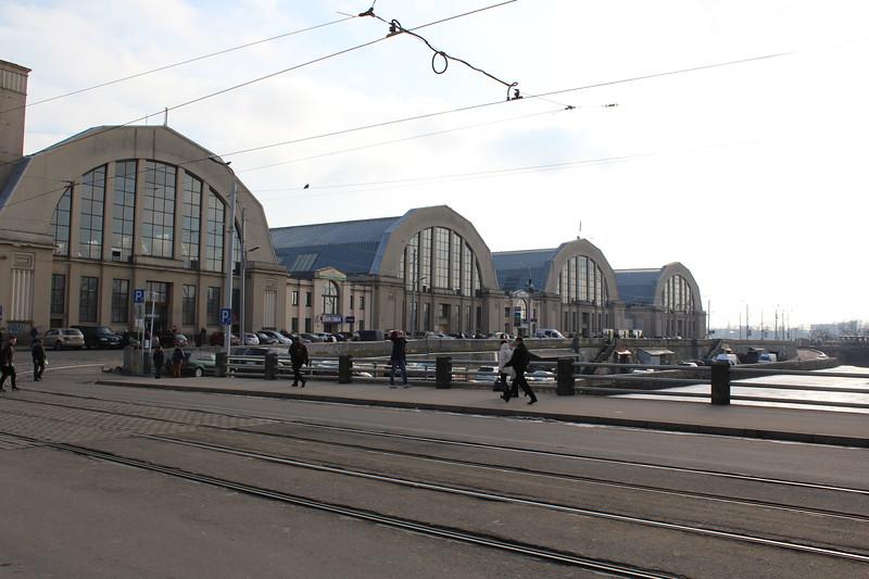 Zeppelin Hangars Riga Central Market (Centrāltirgus)