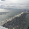 Approaching Runway 31L JFK New York - over Anchor Estates, Long Beach