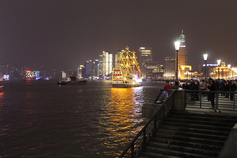Huangpu River and Pudong CBD from The Bund, Shanghai