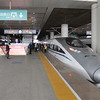 High Speed Train G664 from Xi'an North Station to Beijing West Station