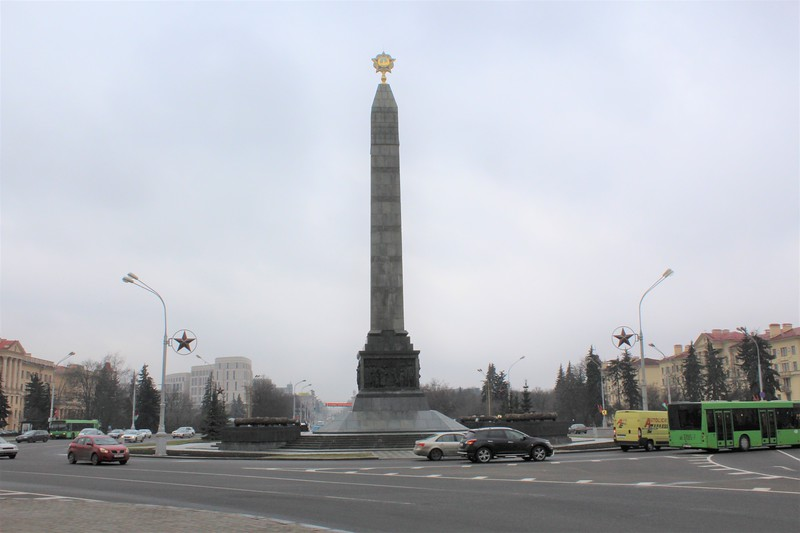 Victory Monument, Victory Square, Minsk