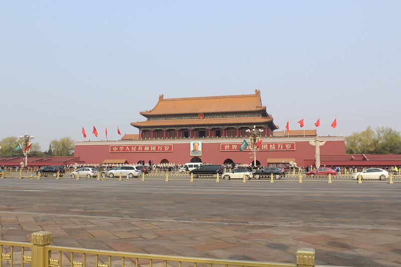 Tiananmen Square - Entrance to the Forbidden City