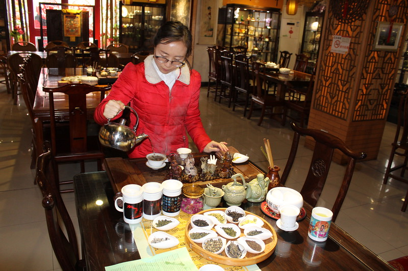 Tea Tasting at the Terracotta Warriors, Qinling (NE of Xi'an)