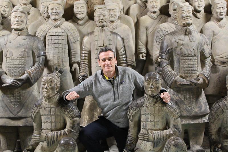 Terracotta Warriors, Qinling (NE of Xi'an)