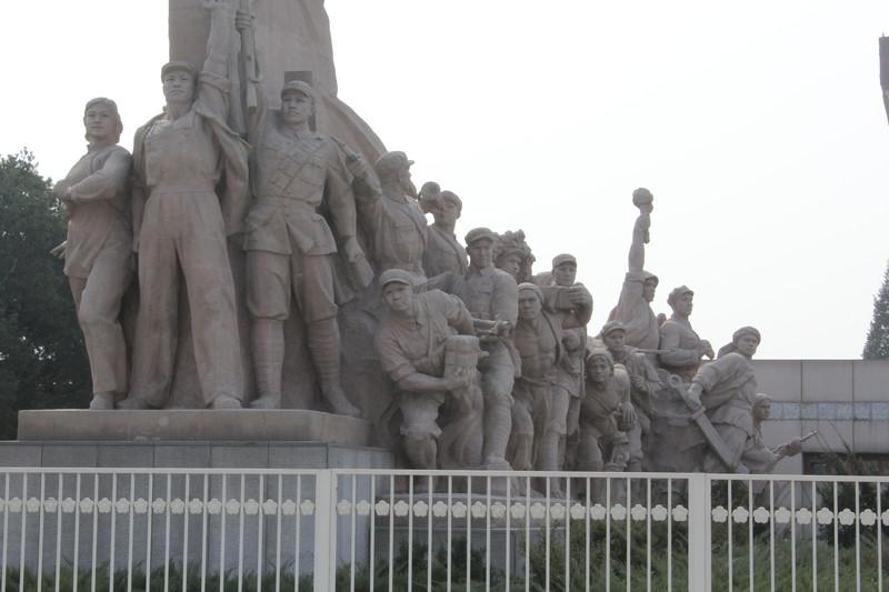 Tiananmen Square -  Mao's Mausoleum