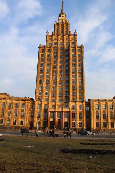 Former Latvian SSR Academy of Sciences Building