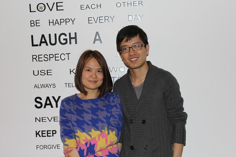 Hosts Air BnB Accomodation Xi'an (Jan and Husband)