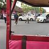 "Auto rickshaw or ""tuk-tuk"" ride in chaotic Old Delhi (Video 27 sec)"
