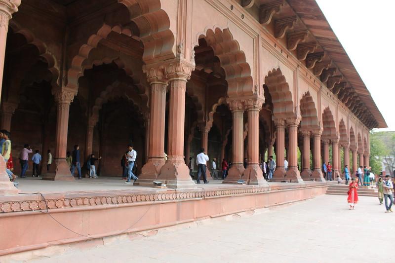 Diwan-i-Aam, Red Fort - Old Delhi