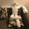 Hotel Room Towel-Art, Lemon Tree Hotel, Electronic City, Bengaluru