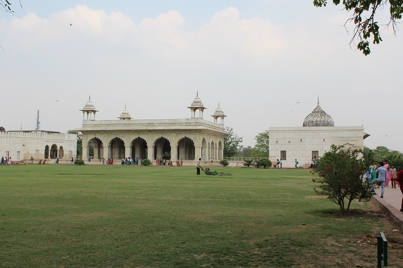 Diwan-i-Khas and Khas Mahal, Red Fort - Old Delhi