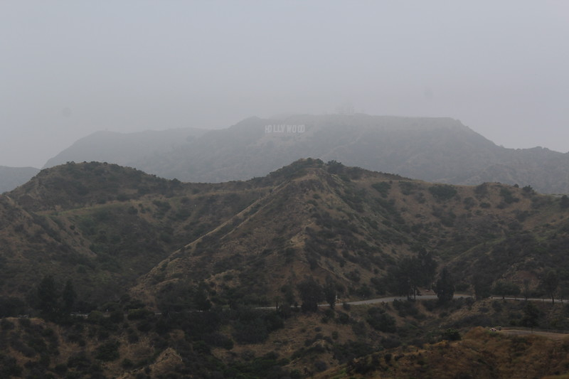 Hollywood Sign, Mount Lee overlooking Los Angeles