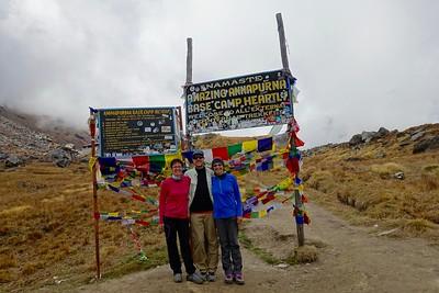 Annapurna Base Camp, Nepal: 2016