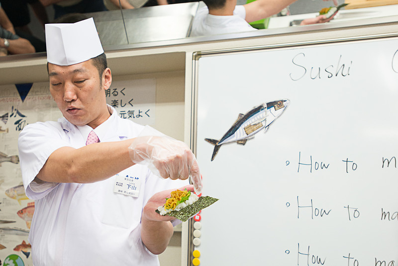 Sushi instruction