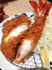 GIant shrimp in Tokyo
