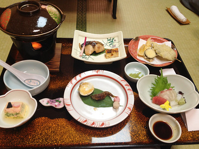 Breakfast at the Rakucho in Kyoto