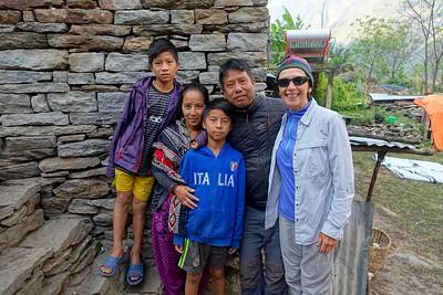Manaslu Trek, Nepal: 2016