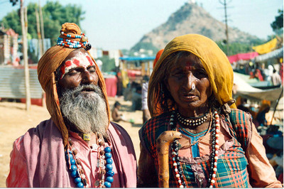 03 Beggars in Pushkar