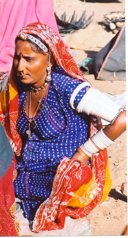 05 Woman in Pushkar