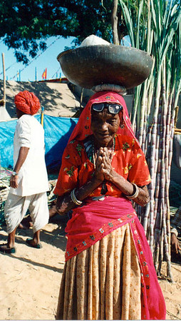 04 Old lady (Pushkar)