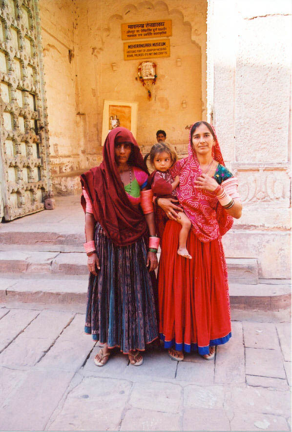 16 Women in Jodhpur