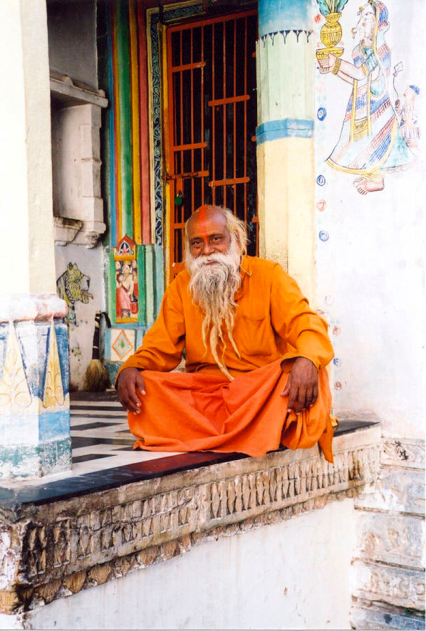 03 Sadhu in Udaipur