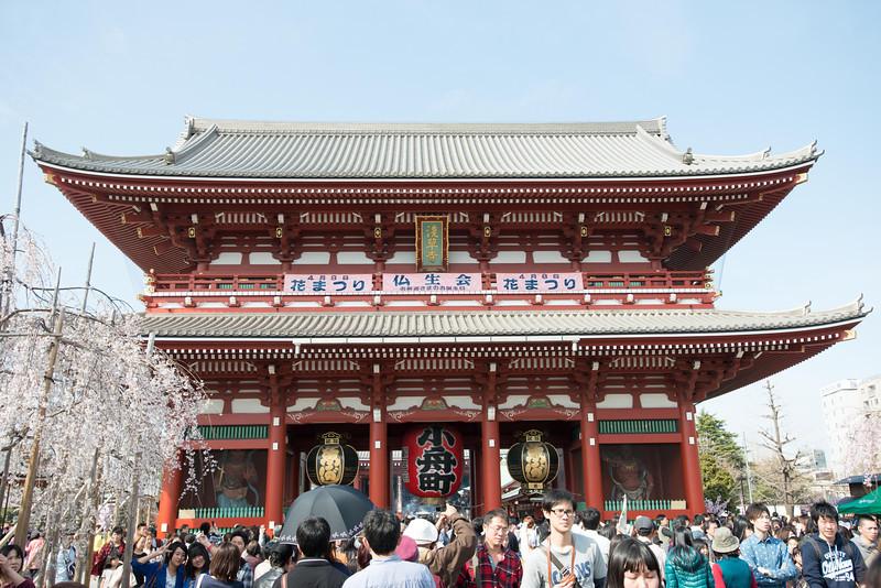The Senso-ji Temple