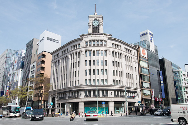 In Ginza