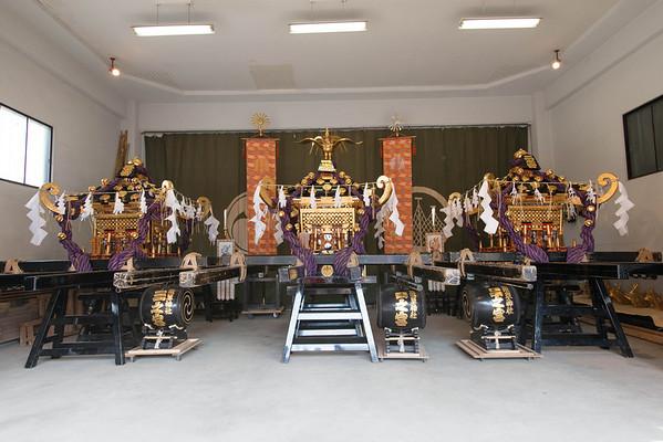 At the Senso-ji Temple