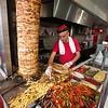 Avni preparing a tasty lunch sandwich