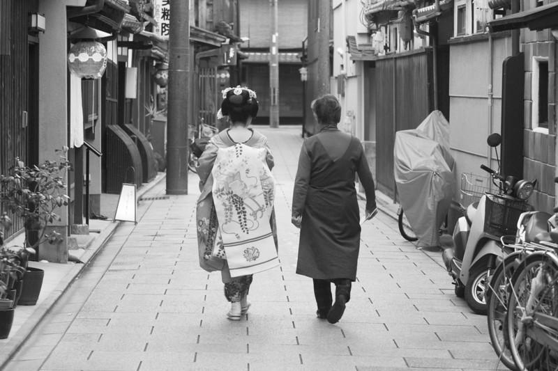 Geisha and her ?