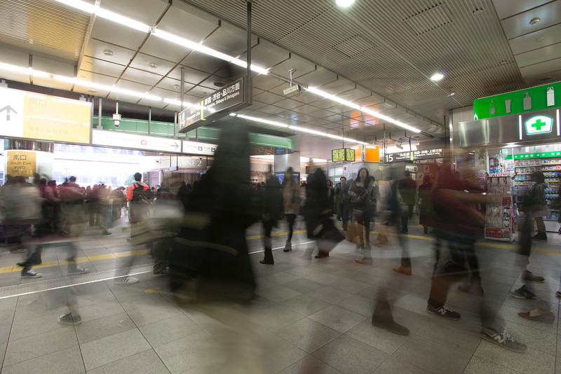 THis is what it is like in every Tokyo train station