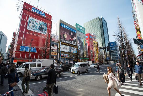 The glitz of Akihabara