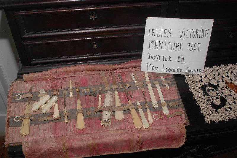 Inside the Sunbury Plantation House. (I think Jack Bauer used something like this on 24)