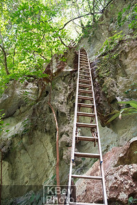 Ladder to help the climb our of the Black Hole