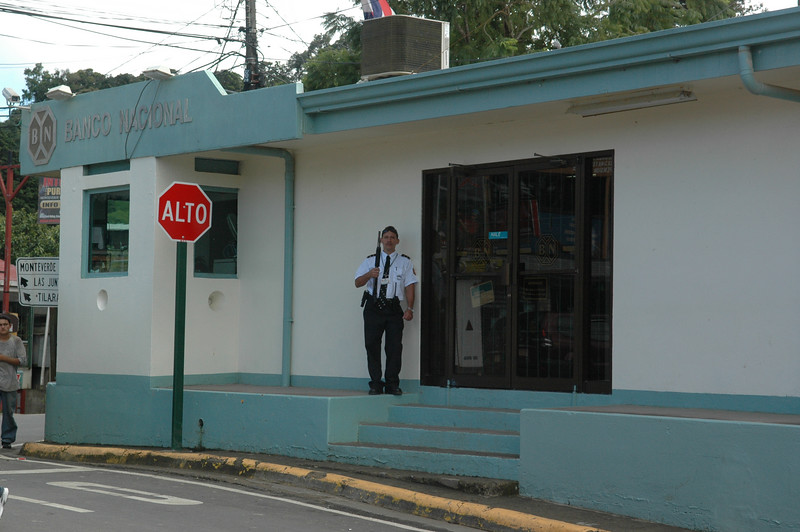 """In the sleepy town of Santa Elena, the police looked like it was """"about to go down"""" any minute.  Classic."""