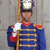 Guard at the Palacio Presidencial