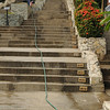 This stairway/ alley was on of the many areas of Guayaquil that is undergoing urban renewal - ilike the fact that they number the stairs, so you know the pain.  This is only the first flight.