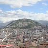 The Virgin of Quito stands atop  El Panacillo, overlooking the city.