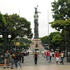 The entrance to Plaza del Centrario, where I spent some time street-shooting in Guayaquil