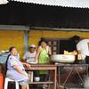 Vendor in the Santa Crrus Highlands (Galapagos)