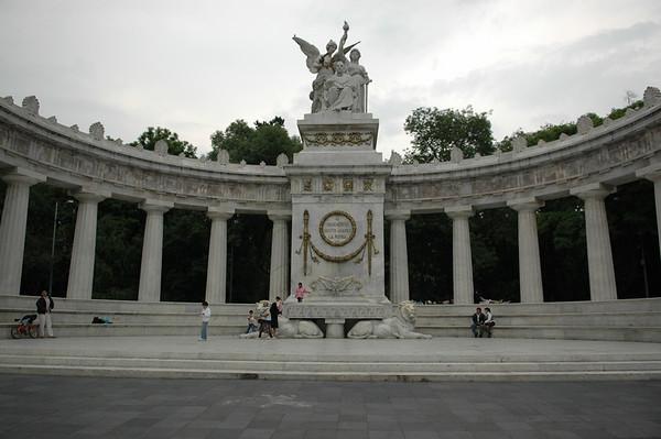 Hemicicio a Benito Juarez, in Alameda Park