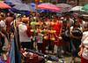 Vendor in Zocalo market